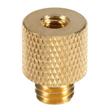 3/8 Male to 1/4 Female Screw Adapter Brass Tripod Thread For Camera Light Stand
