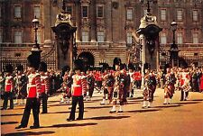 BR13911 Drummers an Pipers   Scots Guards  buckingham palace london uk