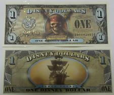 Disneyland 2007 Pirates of the Caribbean Black Pearl $1 Disney Dollar E00001437B