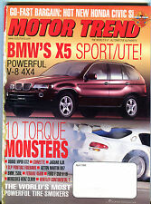 Motor Trend Magazine April 1999 10 Torque Monsters VGEX 020816jhe