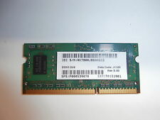 Samsung 2GB DDR3 Memory SO-DIMM 204-Pin PC3-10600S M471B5773DH0-CH9
