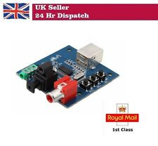 PCM2704 USB DAC to S/PDIF Sound Card Audio Decoder Board 3.5mm Analog Output