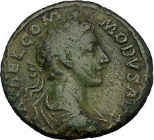 Commodus son of Marcus Aurelius Silver Ancient  Roman Coin Victory Cult  i53845