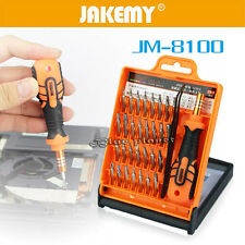 32Pcs Multi-Bit Repair Tools Kit Set Torx ScrewDrivers For Electronics PC Laptop