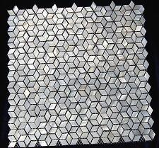 Nacre Mosaïque pearl shell Mosaïque Diamant Naturel Forme Cube