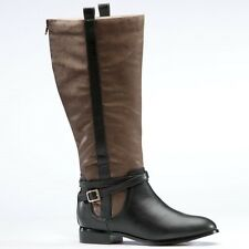 Freshica Two-Toned Riding  Boot NEW NIB Size 9M