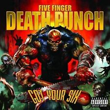 FIVE FINGER DEATH PUNCH GOT YOUR SIX 3 Extra Tracks CD Explicit NEW