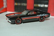 Hot Wheels '72 Gran Torino Sport - Black & Red - Loose 1:64