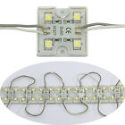 20pcs 4 LED Cool White 5050 SMD Module Waterproof Light Lamp Strip DC 12V