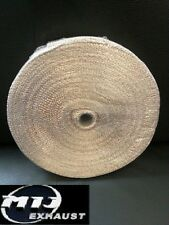 10M Gold Beige Exhaust Heat Wrap Manifold Downpipe High Temp Bandage Tape Roll