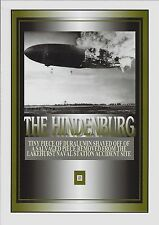 HINDENBURG duralumin TINY PIECE dirigible airship
