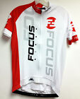 2013 Team Focus Race CYCLING JERSEY in White - made in Italy by GSG