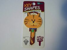 Cat Schlage house key blank.