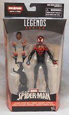 Marvel Legends Spiderman Miles Morales - with Venom BAF Piece