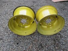 John Deere 140 210 212 214 216 300 314 316 318 322 332 - wide rear rims..