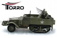TORRO 1:16 M16 PANZER HALBKETTE MIT FLAK RC FERNGESTEUERT 5 KANAL RTR