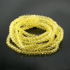 Glass Crystal Elastic Necklace