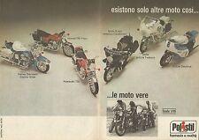 X9534 POLISTIL - Esistono solo altre moto così... - Pubblicità 1977 - Advertis.
