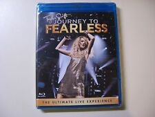 TAYLOR SWIFT-JOURNEY TO FEARLESS BLU RAY DISC -NEW AND FACTORY SEALED IN PACKAGE