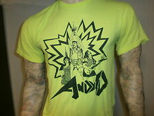 ANDY D CONCERT T SHIRT War Cries Songs In Key Of Magic Choose Your Perversion M