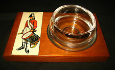 War of 1812 1950s American Soldier Drummer Militia Liquor Glass Jigger Snifter