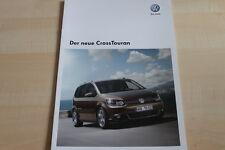 101855) VW Cross Touran Prospekt 08/2010