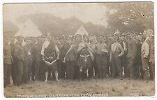 Royal Fusiliers, 2nd City of London Regiment, Aldershot, 1908, old RP PC,G&P#102