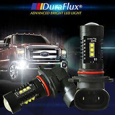 DuraFlux 6000K White 9005 HB3 CEEE High Power 80W LED Fog Driving Light Bulbs US