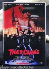 "Tiger Claws Movie Poster 2"" X 3"" Fridge / Locker Magnet. Bolo Yeung Martial Arts"
