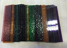 20 pieces Mixed Color Stained Glass Mosaic Tiles