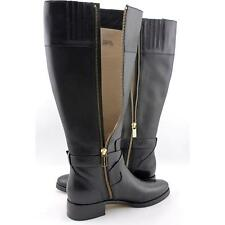 Michael Michael Kors Bryce Tall Wide Calf Women US 6 Black Blemish  14212