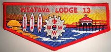 OA WIATAVA LODGE 13 ORANGE COUNTY COUNCIL SCOUT PATCH 3 SURF BOARDS COG FLAP