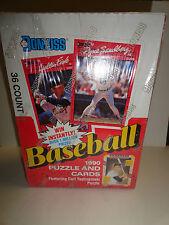 DONRUSS 1990 BASEBALL TRADING CARDS BOX       SEALED