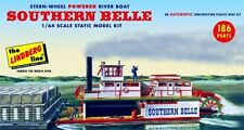 Lindberg Southern Belle Paddle Wheel Steamship model kit 1/64