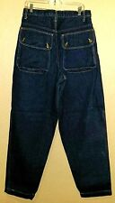 Karl Kani USA Made Authentic Rinsed Cargo Pockets Blue Denim Jeans Pants 32