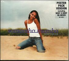 SAMANTHA MUMBA Body II 5TRX w/ RARE MIXES & EDIT w/ POSTER CD Single SEALED 2000