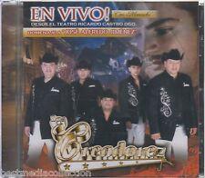 Los Creadorez CD NEW En Vivo Con Mariachi ALBUM Con 12 Canciones SEALED