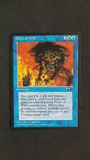 Alliances ** Force of Will (NM/MT!) ** Mtg Magic #1