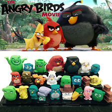 New 25 pcs/set Angry Birds Figures 4-6 cm Toys doll cartoon movie FREE SHIPPING