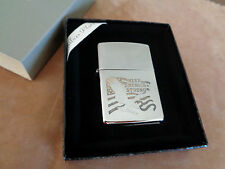 ZIPPO LIGHTER SILVER PLATE GOLD INLAY KEEP AMERICA STRONG NEW 30250SPK