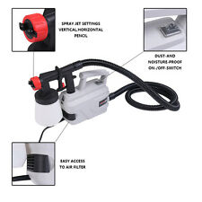 800W Electric Easy Paint Spray Gun Painter Zoom Through House Painting Jobs