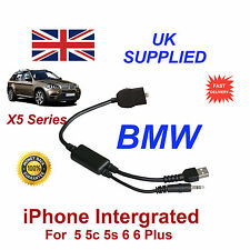BMW X5 Series Fully integated Audio Cable for Appple iPhone 5 5c 5s 6 6s Plus