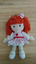 Vintage Strawberry Shortcake Berrykin Rag Doll- Rare!