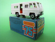 Matchbox Lesney Superfast No 54 Mobile Home 1980 MIB