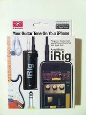 AMPLIFICATORE AMPLITUBE IRIG PER IPHONE 4,4S,IPOD,IPAD1,2,3 NEW