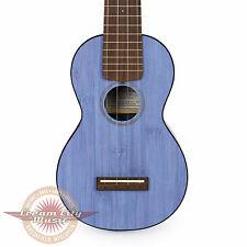 Brand New Martin 0X Bamboo Soprano Ukulele in Blue Uke