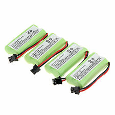 Lot of 4pcs 800mAh Cordless Phone Rechargeable Ni-MH Battery For Uniden BT-1008