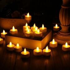 *24PPCS LED Tea Light Candles Realistic Battery-Powered Flameless Candles
