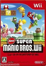 Used Wii New Super Mario Bros.  JAPAN JP JAPANESE JAPONAIS IMPORT