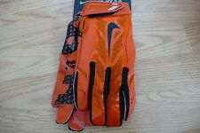 NEW NIKE VAPOR JET 3.0 MENS SZ XXL RECEIVER FOOTBALL GLOVES  GF0485 880 ORANGE